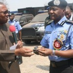 GOV. PETER OBI DONATING PATROL VEHICLES TO POLICE IN AWKA