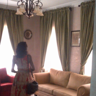 Things you must consider before buying curtains for your for Nigerian living room designs