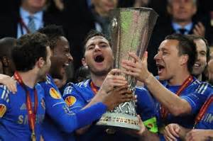 For the Records: Chelsea FC Holds the Champions and Europa League Trophies for the First Time in the History of European Cups.