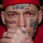 Man With Sleazy P*rn Face Tattoos Contemplates Removal