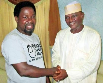 Don't Drag My Name Into Politics', TB Joshua Screams In