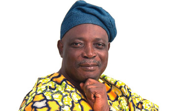 Image result for Rasheed Ladoja, former Oyo governor, who defected to the Accord Party