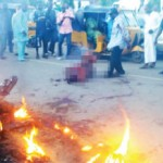 Mob Burns Lecturer To Death For Crushing Five Pupils To Death In Taraba