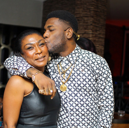 Burna Boy And His Mother Cutest Pose Ever Information