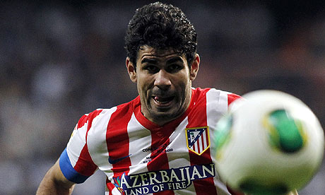 Atletico Madrid's Diego Costa.