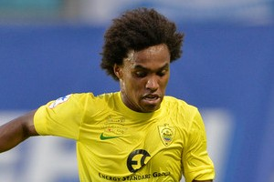 Willian Joined Anzhi Makhachkala From Fenerbahce.