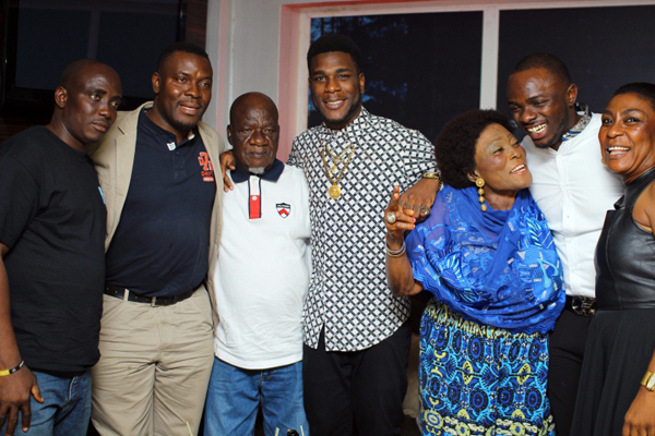 PHOTOS: Meet Burna Boy's Family - Information Nigeria