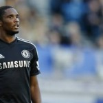 Samuel Eto'O Made His Chelsea Debut in a 1-0 Loss at Goodison Park on Saturday.