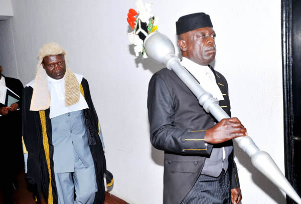 INAUGURATION OF NEW SPEAKER, PLATEAU STATE HOUSE OF ASSEMBLY, RT. HON. TITUS ALAMS