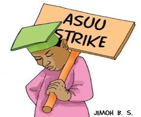 Jonathan ,Federal Government Stops Salaries Of Striking Lecturers (ASUU)