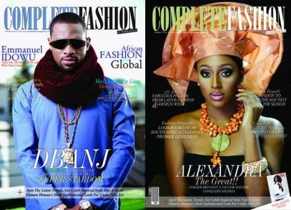 D 39 Banj And Alexandra Burke Make Cover Of Complete Fashion