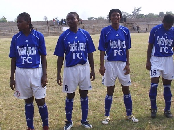 Players of Bayelsa Queens Football Club.