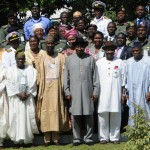 PIC. 18. NIPSS COURSE 34 MEETING WITH PRESIDENT JONATHAN IN ABUJA