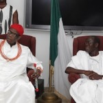 oshiomole and oba of benin