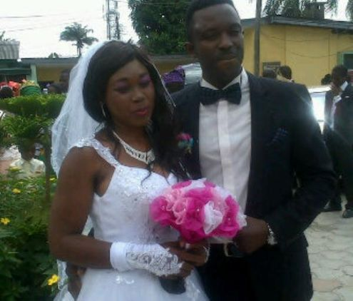 PHOTO: Rising Singer, OAP Tito Da Fire Marries His Sweetheart in Lagos