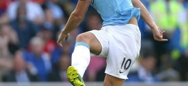 Dzeko Says Aguero's Injury Blow is Bad Omen for City.