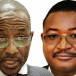 CBN GOVERNOR, SANUSI LAMIDO (L) AND NNPC GROUP MANAGING DIRECTOR, ANDREW YAKUBU