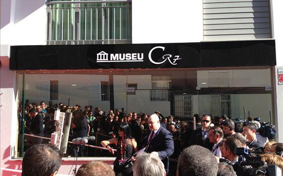 Pictures Ronaldo Opens Cr7 Museum Leaves Space For