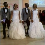 Double Double: Twin Sisters Marry Twins Brothers On The Same Day (PHOTOS)