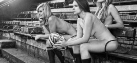 PHOTOS: Women's Rugby Team Go Completely Unclad For Charity [+18]
