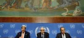 UN: Syria Peace Talks To Open In Montreux