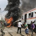 Four Killed In Indonesia Train Accident
