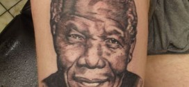 Man Gets Nelson Mandela's Face Tattooed on His Thigh as Tribute to Iconic Leader