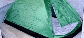 South Korea Is So Cold That People Use Tent Inside Their Bedroom