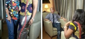 WOW: Check Out Omotola Jalade-Ekeinde Being Interviewed By CNN (PHOTOS)