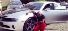 Sean Tizzle Flaunts His New Chevrolet Camaro RS