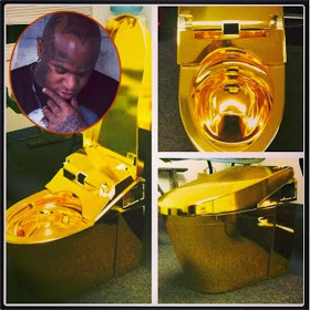 toilet made of gold. Birdman Gets Himself Toilet Seat Made Of Pure Gold  INFORMATION