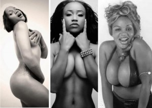 Pop Singers Maheeda Adokiye And Movie Actress Cossy
