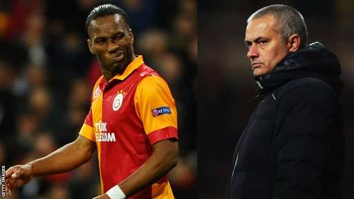 Mourinho Says It's Difficult to Face Didier Drogba. Getty Image.