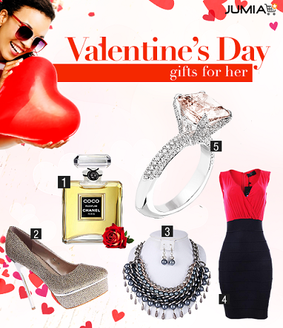 Jumia's Top 5 valentine day gifts for him & for her