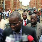 fashola speaking to media