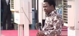 How T.B. Joshua Made Malaysian Airlines Plane Crash Prophecy (PHOTO & VIDEO)
