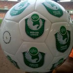 The New Glo Premier League Match Ball.