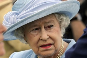 Queen Elizabeth II with a bloodshot left eye at the Cartier Queen's Cup at Guards Polo Club-890284