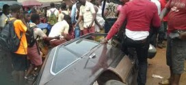 Photo: 7 Secondary School Students Crushed To Death In Anambra Auto Crash
