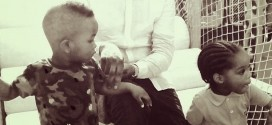 Cool Dad: Ice Prince Shares Photos of his Son and Wizkid's Son