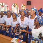 MEMBERS OF CATHOLIC WOMEN ORGANISATION (CWO) OF ST LUKE CHAPLAINCY, UNIVERSITY OF ABUJA TEACHING HOSPITAL, GWAGWALADA, CELEBRATING MOTHER'S DAY IN ABUJA ON SUNDAY (30/3/14).