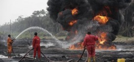 NEMA Confirms Fire Incident At NNPC Pipelines In Ijegun