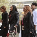 Karrueche Tran Shows Up In Court To Support Chris Brown