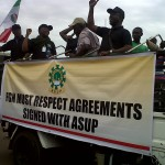 ASUP-COEASU PROTESTS