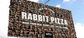 Company Designed Billboard With Hundreds Of Dead Rabbits