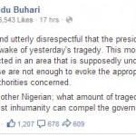 Buhari Lambasts President Jonathan Over His Visit To Kano Hours After Abuja Blast