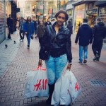 Juliet Ibrahim's H&M shopping bags causes storm on her page
