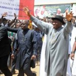 PDP Rally: Jonathan Calls Kwankwaso A Fraud, Wants Kano Back