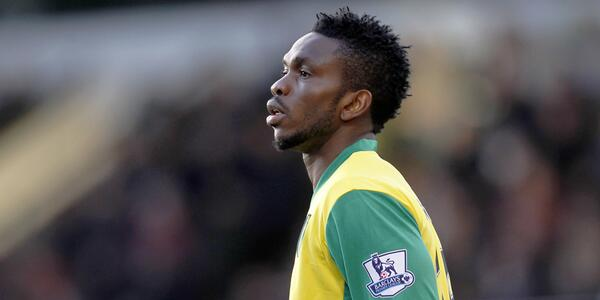 Joseph Yobo Joined the Canaries on Loan in January from Fenerbahce.