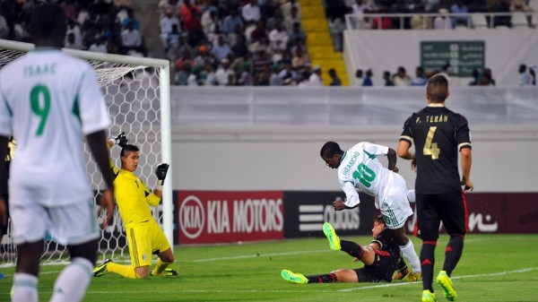 Kelechi Iheanacho Scores Against Mexico at the 2013 Under-17 World Cup in the UAE.